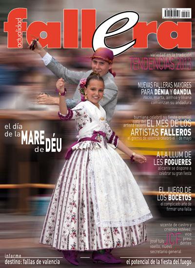 12bdb3c457e El próximo viernes saldrá a la venta el número correspondiente a junio de la  revista Actualidad Fallera. Entre otros temas