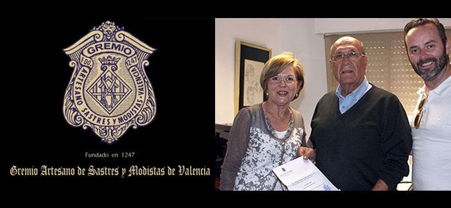 e191196ebc8 Actualidad Fallera reconocida por el Gremio Artesano de Sastres y Modistas  de la CV