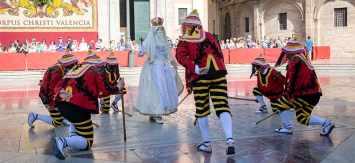 Valencia celebró la procesión del Corpus