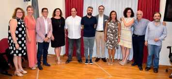 Presentación de la nueva directiva de la Junta Central Fallera
