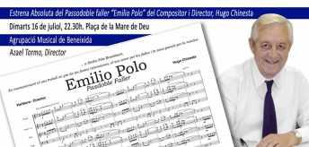 Emilio Polo seguirá con nosotros también en los pasacalles