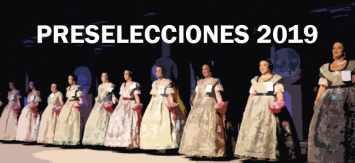 Candidatas preseleccionadas del domingo 21 de julio