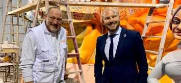 La Diputació estudiará posibles vías de colaboración con el Gremio de Artistas Falleros de Valencia