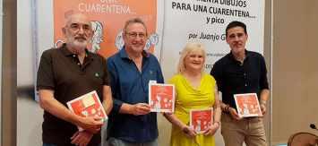Juanjo García presentó 'Cuarenta dibujos para una cuarentena… y pico'