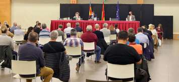 JCF celebró su pleno del mes de octubre