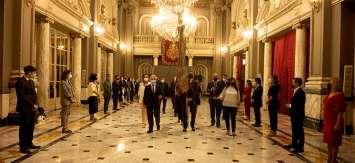 Comienza la celebración del 9 d'Octubre en Valencia