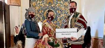 Más de 250 comisiones han desfilado por el Museo de la Seda en marzo