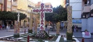 41 cruces de mayo adornarán Valencia el próximo lunes