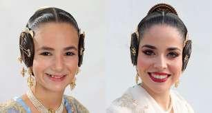 Nerea López Maestre y Carmen Martín Carbonell, Falleras Mayores de Valencia 2022